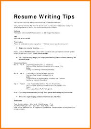 10 Different Resume Formats Precis Format