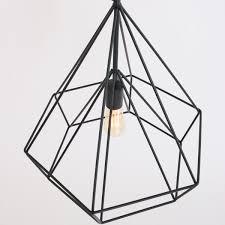 Hanglamp Zwart Draadlamp Longo