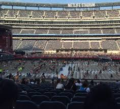 Metlife Seating Chart One Direction Metlife Stadium Section 139 Row 24 Seat 17 One Direction