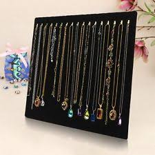 Long Necklace Display Stand Necklace Display eBay 23