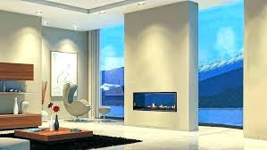 indoor outdoor fireplace two sided nice 3 firep
