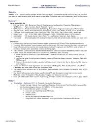 Template: Release Note Template Quality Assurance Resume Engineer Qa ...