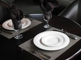 placemats for round dining table room ideas