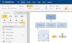 Simple Org Chart Builder Organizational Chart Software Make Org Charts Online