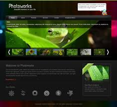 Php Website Templates Enchanting Photography Website Templates