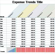 monthly expense report excel - April.onthemarch.co