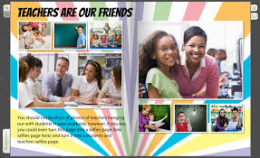 not just a grader use your yearbook to highlight teachers as friends