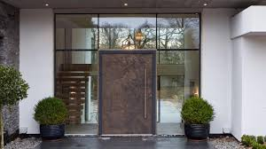 front doors. Plain Front A Bronze Pivot Door By Urban Front A Maker Of Highend Contemporary Front For Front Doors O