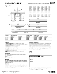 advent lytespan 1 and 2 circuit track 6101 manuals page 3 please