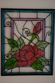 glass painting on plastic um