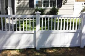 privacy vinyl fencing custom semiprivacy fence vinyl semi privacy fence62 privacy