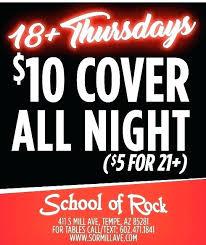 School Of Rock Tempe Closed Pamfleti Info