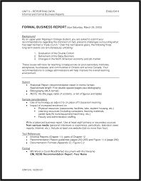 doc 680832 sample of business report 17 business report best photos of formal report sample writing analytical example via sample of business report