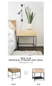 west elm industrial storage side table for 240 vs target darley end table for 80 copy buy west elm industrial storage coffee table