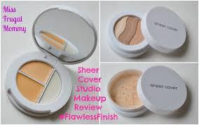 sheer cover studio makeup review flawlessfinish