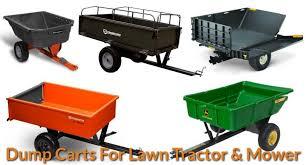 Chore Carts Best Dump Carts For Lawn Tractor Mower 2019 Mechanicwiz Com