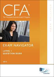 cfa navigator question bank