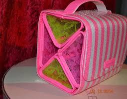victorias secret sequins roll up organizer hanging travel train case makeup bag ebay