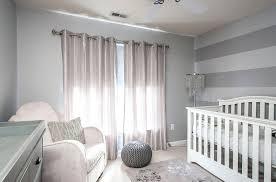 gray and white striped nursery rug