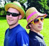 Shades of summer with Michael Morley and Danny Earl of Appleby who were soaking up the sun. - 397542_0