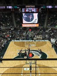 Breslin Center Section 218 Home Of Michigan State Spartans