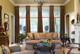 Living Room  Amazing Blue Curtains Decorating Ideas Images In Traditional Living Room Curtains