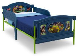 Ninja Turtle Bedroom Furniture Teenage Mutant Ninja Turtles Deluxe Plastic Twin Bed Delta
