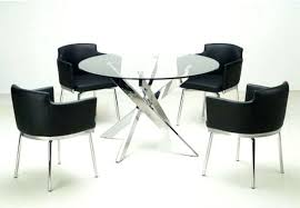 round glass top dining sets inspiring modern round dining room sets and round glass dining table