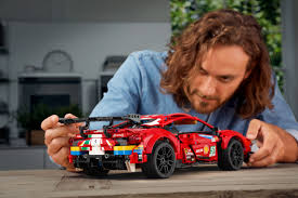 A rewarding building project for adults and an inspired birthday or special occasion gift for anyone who loves endurance racing, ferrari racing cars and motorsports. The Ferrari 488 Gte Lego Replica Captures The Ferocious Look Of The Original Geekspin