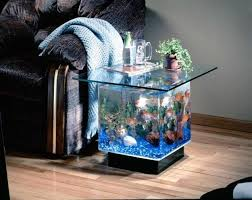 22 Contemporary Living Room Designs With Fish Tanks  Home Design Fish Tank Room Design