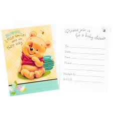 baby shower invitation blank templates winnie the pooh baby shower invitations templates free theruntime com