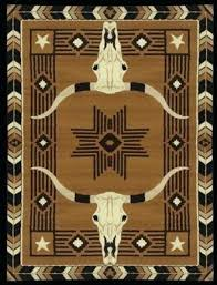 western area rug steer head 5 x westerns and s rugs