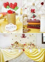 Belle Birthday Decorations Beauty and the Beast Quinceañera Party Ideas Beauty and the 73