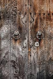 old door and lock in spain castle stock photo 9583937