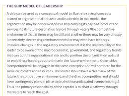 Leadership Essay Example Beauteous The Importance Of Leadership Skills To Organizational Success