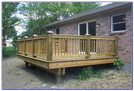 Wood Deck Railing Ideas Stylish Design Deck Railings Ideas Deck