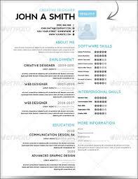 ... Innovation Amazing Resumes 3 30 Amazing Resume PSD Template Showcase ...