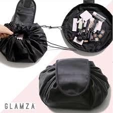 Magic Travel Pouch Drawstring <b>Portable Travel Cosmetic Bag</b> ...