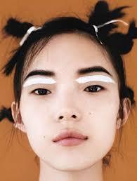 what a face unique makeup bjork hair twists yes