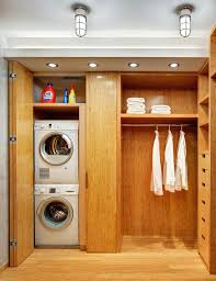 closet washer and dryer washer dryer in master closet closet contemporary with bamboo shelves l listed