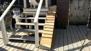 outdoor dog ramp artistic ramps for stairs on best and images bed building outdoor dog ramp build
