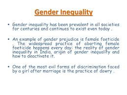 gender inequality 5