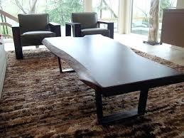 raw edge coffee table walnut live edge coffee table raw edge wood slab coffee table
