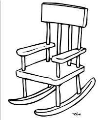 Rocking chair drawing Vintage Agree Timtimcom Free Drawing Of Rocking Chair Bw2 From The Category Building Home