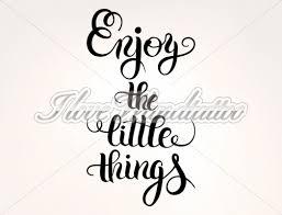 Genieße Die Kleinen Dinge Wandtattoo Spruch Englisch I Love