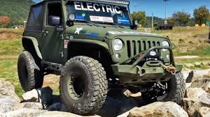Watch These Electric Jeep Wranglers Put Gas And Diesel Jeeps To Shame