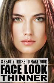 pretty without makeup middot to make your face look thinner