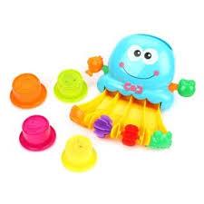 Игрушка для ванной <b>Осьминожки</b>, аксесс. 4 предм., в ассорт., кор.