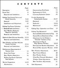 1946 1947 buick convertible repair shop manual original this manual covers all 1946 and 1947 buick convertibles equipped a hydraulic top seats or windows since 1947 models were virtually identical to 1946