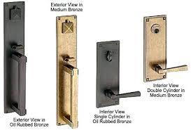exterior door hardware sets entry door set black entry door sets
